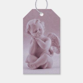 Pastel Pink Cherub 1st Corinthians Gift Tags