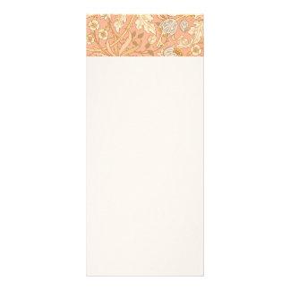 Pastel Pink Flowers Rack Card