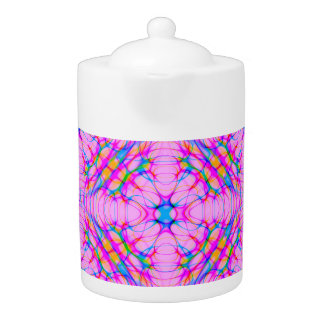 Pastel Pink Kaleidoscope Pattern Abstract