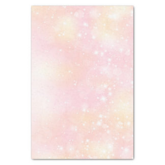Pastel Pink Modern Sparkling Background Tissue Paper