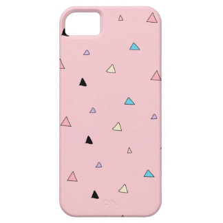 Pastel Pink Pieces Candy Chips Geometric Triangles iPhone 5 Case