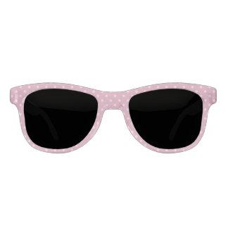 Pastel Pink Polka Dot Sunglasses