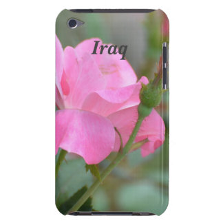 Pastel Pink Rose in Iraq Barely There iPod Cases