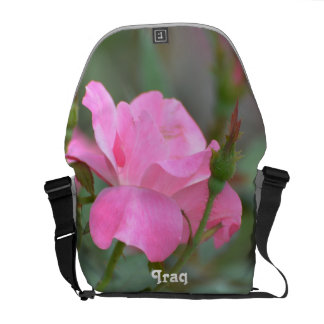 Pastel Pink Rose in Iraq Commuter Bags