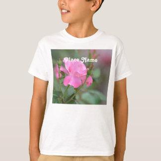 Pastel Pink Rose in Iraq T-Shirt