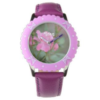 Pastel Pink Rose in Iraq Wrist Watches