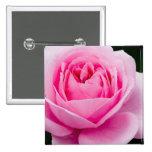 Pastel Pink Rose Pin