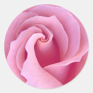 PASTEL PINK Rose - Wedding Envelope Seal