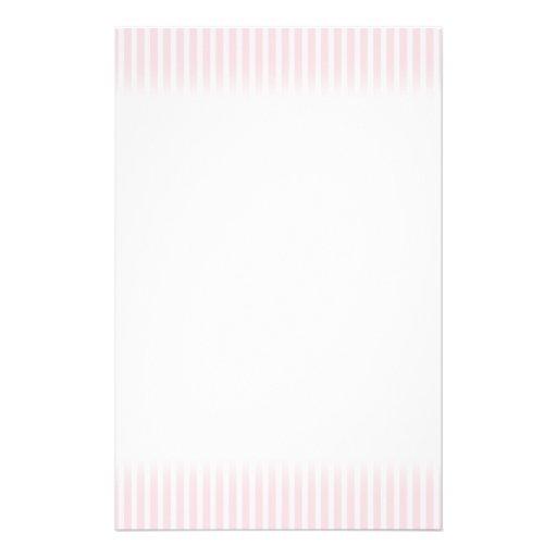 Pastel Pink Stripes. Custom Flyer