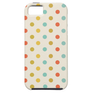 Pastel polka-dots case for the iPhone 5