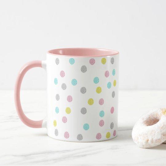 Pastel Polka Dots Mug