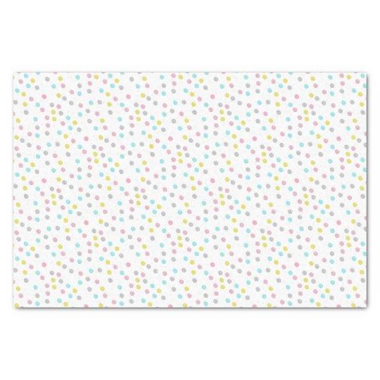 Pastel Polka Dots Tissue Paper