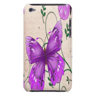 Pastel Purple Butterflies iPod Touch Cases