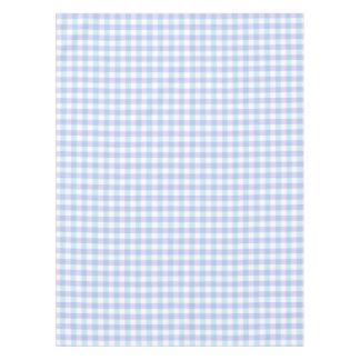 Pastel Purple Gingham Tablecloth