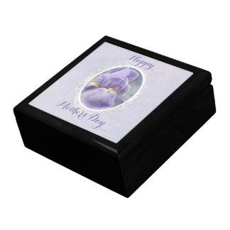 Pastel Purple Iris Mother's Day Gift Box
