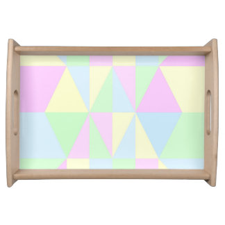 Pastel Pyramid Collection Serving Tray