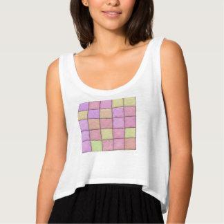 pastel quilt 1(I) Singlet