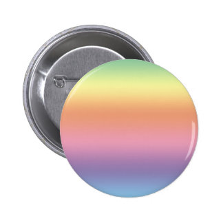 Pastel Rainbow 6 Cm Round Badge