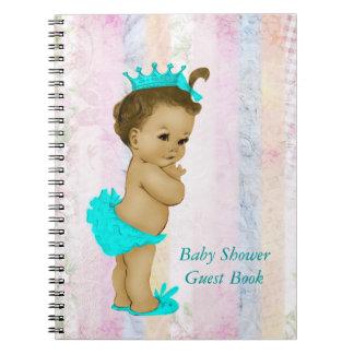 Pastel Rainbow Baby Shower Guest Book
