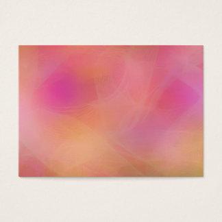 Pastel rainbow business card