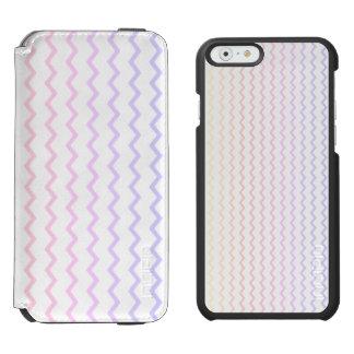 Pastel Rainbow Chevron Incipio Watson™ iPhone 6 Wallet Case