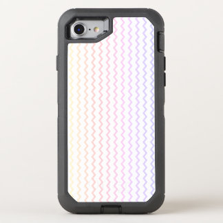 Pastel Rainbow Chevron OtterBox Defender iPhone 8/7 Case