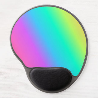 Pastel Rainbow Gel Mousepad