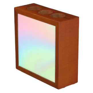 Pastel Rainbow of Color Desk Organiser