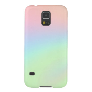 Pastel Rainbow of Color Galaxy S5 Case