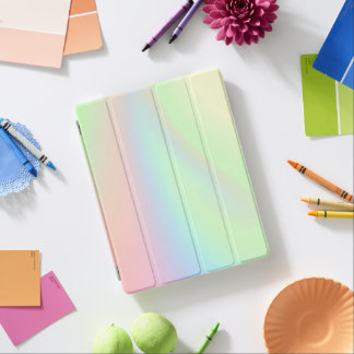 Pastel Rainbow of Color iPad Cover