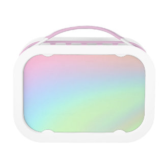 Pastel Rainbow of Color Lunch Box