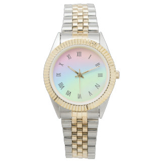 Pastel Rainbow of Color Watch