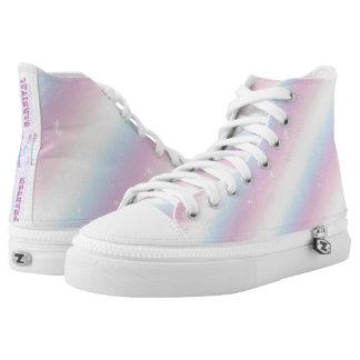 Pastel Rainbow Printed Shoes