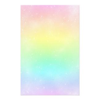 Pastel Rainbow Sky Stationery