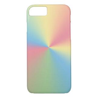 pastel rainbow spectrum iPhone 8/7 case