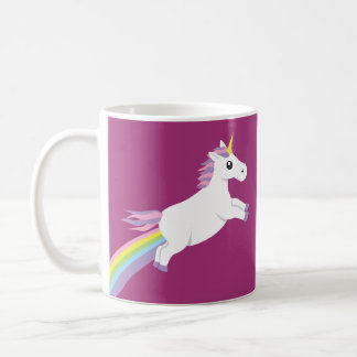 Pastel Rainbow  Unicorn Mug