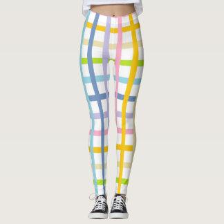 Pastel Rainbow Weave Leggings