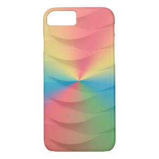 pastel rainbow weave spectrum iPhone 8/7 case