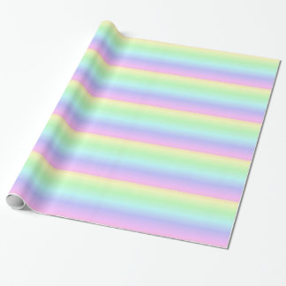 Pastel Rainbow wrapping paper