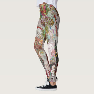 Pastel Reflections In Pond Leggings
