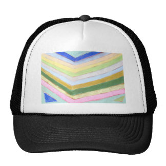 Pastel Refraction (abstract naive expressionism) Cap