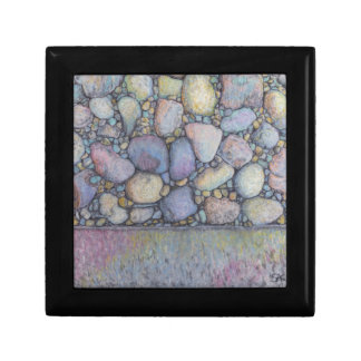 Pastel River Rock and Pebbles Gift Box