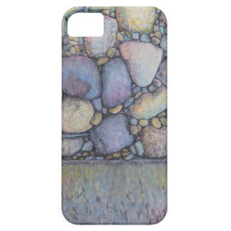 Pastel River Rock and Pebbles iPhone 5 Covers