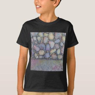 Pastel River Rock and Pebbles T-Shirt