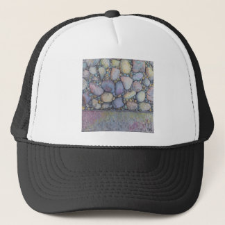 Pastel River Rock and Pebbles Trucker Hat