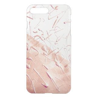 Pastel Rose Gold Rain iPhone 8 Plus/7 Plus Case