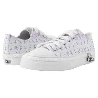 Pastel Sagittarius Low Top Shoes