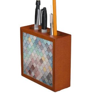 Pastel Scales Desk Organiser