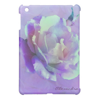 Pastel Shades Of Pink Rose-Photo Manipulation Cover For The iPad Mini