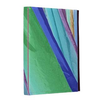 Pastel Silks Abstract iPad Folio Cover